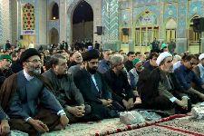 سخنرانی در مراسم احیاء شب 19 ماه رمضان در حرم محمد هلال بن علی(ع) آران و بیدگل