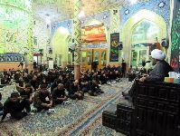 سخنرانی و مراسم إحیاء در شب 21 ماه رمضان در تکیه حاج سیدحسن قم