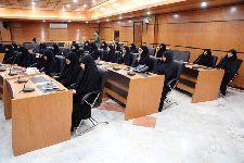 دیدار اساتید و طلاب مدرسه علمیه حضرت نرگس(س) مشهدمقدس با معظم له در مرکز فقهی ائمه اطهار(ع) قم