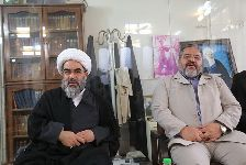 دیدار دکتر سردار جلالی رئیس سازمان پدافند غیرعامل کشور و معاونین با معظم له