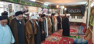 مراسم بزرگداشت سالگرد شهادت امام حسن عسکری(ع) در دفتر مشهد