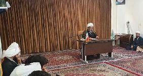 سخنرانی معظم له در جمع طلاب مرکز فقهی ائمه اطهار(ع) مشهد مقدس