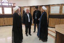 دیدار پروفسور پیرونه با آیت الله فاضل لنكرانی
