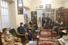 دیدار سردار جلالی رئیس سازمان پدافند غیر عامل کشور با معظم له