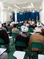 درس اخلاق توسط آیت الله مومن براي دانش پژوهان مرکز فقهي