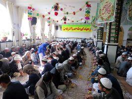 برگزاری مراسم جشن با شکوه ولادت امام زمان(ع) در مرکز فقهی کابل