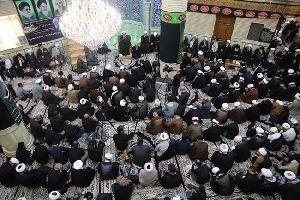 مراسم سوگواری شهادت امام حسن مجتبی(ع) در مسجد مرکز فقهی ائمه اطهار(ع)